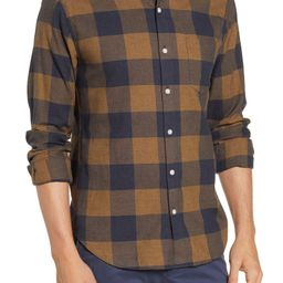 Slim Fit Buffalo Check Button-Up Shirt   Nordstrom