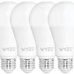 Wyze Bulb 800 Lumen A19 LED Smart Home Light Bulb, Adjustable white temperature and brightness, w...   Amazon (US)