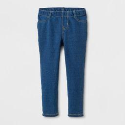 Toddler Girls' Leggings - Cat & Jack™ Indigo Blue | Target
