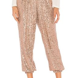 Night Moves Sequin Harem Pants in Rose | Revolve Clothing (Global)