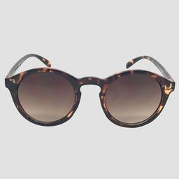 Women's Round Sunglasses - A New Day™ Brown | Target