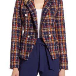 Plaid Tweed Jacket   Nordstrom
