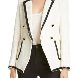 Cato Double Breasted Dickey Jacket   Nordstrom