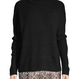 Time and Tru Women's Drop Shoulder Mock Neck Pullover   Walmart (US)