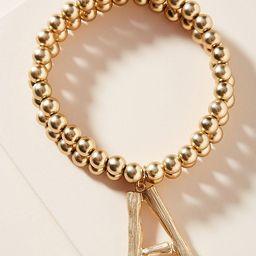 Monogram Beaded Bracelet | Anthropologie (US)