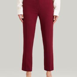 Zoom Viscose Cady Trousers | Joseph