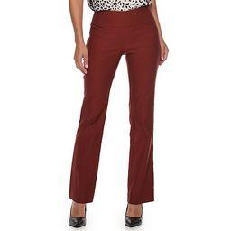 Women's Apt. 9® Tummy Control Millennium Pull-On Bootcut Dress Pants | Kohl's