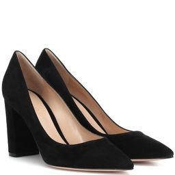 Piper 85 suede pumps | Mytheresa (US)