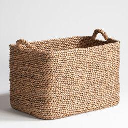 Raga Rectangular Woven Basket | La Redoute (UK)