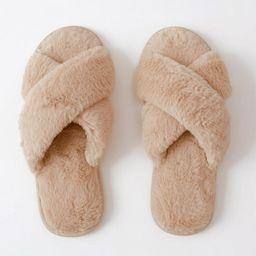 Faux Fur Slipper | Abercrombie & Fitch US & UK
