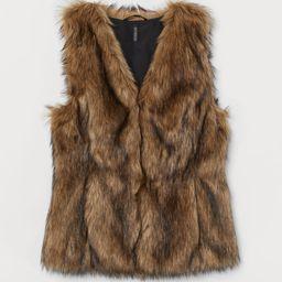 Faux Fur Vest   H&M (US)