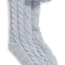 Pom Pom Fleece Lined Socks | Nordstrom