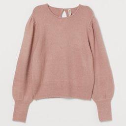 Puff-sleeved Sweater | H&M (US)