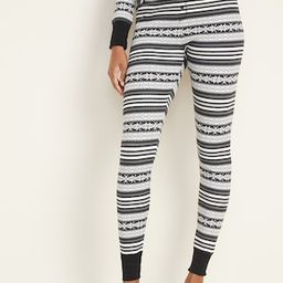 Thermal-Knit Pajama Pants for Women   Old Navy (US)
