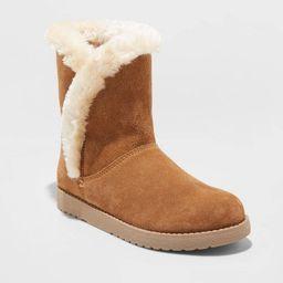Women's Daniah Suede Mid Boots - Universal Thread™ | Target