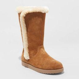 Women's Daniela Suede Tall Boots - Universal Thread™ | Target