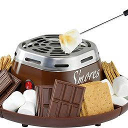 Nostalgia SMM200 Indoor Electric Stainless Steel S'mores Maker with 4 Compartment Trays for Graha...   Amazon (US)
