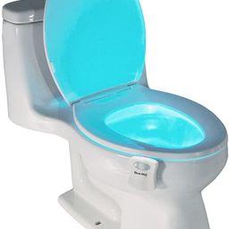 Best Light Motion Activated Toilet Night Light Toilet Nightlight   Amazon (US)