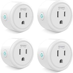 Smart plug, Gosund Mini Wifi Outlet Works With Alexa, Google Home & IFTTT, No Hub Required, Remot...   Amazon (US)