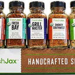 FreshJax Grilling Spice Gift Set, (Set of 5)   Amazon (US)
