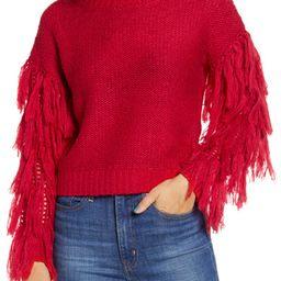 Fringe Sleeve Sweater   Nordstrom