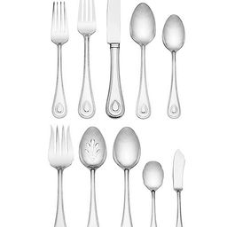 French Perle 65 Pc Set, Service for 12 | Macys (US)