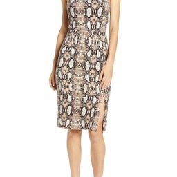 Square Neck Body-Con Dress | Nordstrom