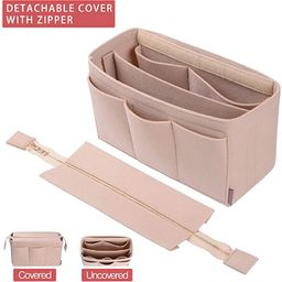 Purse Organizer Insert, Bag Organizer with NEW Detachable Zipper cover, fits Speedy Neverful, St ... | Amazon (US)
