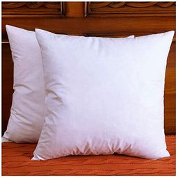 DOWNIGHT Set of 2, Cotton Fabric Throw Pillow Inserts, Down and Feather Decorative Pillow Insert,... | Amazon (US)