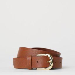 Leather belt   H&M (UK, IE, MY, IN, SG, PH, TW, HK, KR)