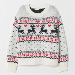 Pattern-knit Sweater | H&M (US)