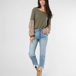 Charlie High Rise Ankle Straight Jean   Buckle