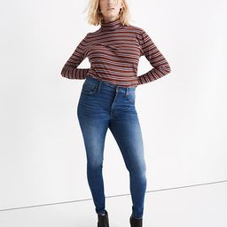 """9"""" Mid-Rise Skinny Jeans in Pendale Wash   Madewell"""