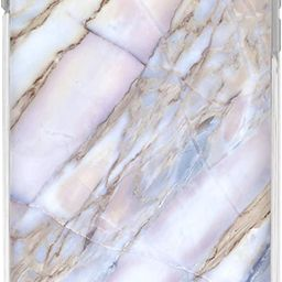 Casery Case Designed for The Apple iPhone, Shatter Marble (White Stone) - Military Grade Protecti... | Amazon (US)