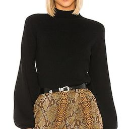 L'Academie Fable Sweater in Black from Revolve.com | Revolve Clothing (Global)