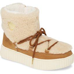 Pajar Ceria Genuine Shearling Waterproof Sneaker Boot (Women)   Nordstrom   Nordstrom