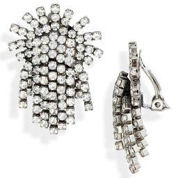 Stella & Dot Crystal Burst Clip-On Earrings | Nordstrom