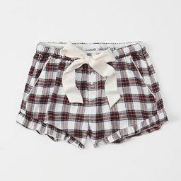 Ruffle Sleep Shorts | Abercrombie & Fitch US & UK