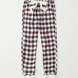 Flannel Sleep Joggers | Abercrombie & Fitch US & UK