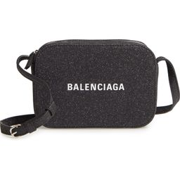 Balenciaga Large Everyday Glitter Calfskin Camera Bag | Nordstrom | Nordstrom