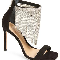 Schutz Lory Crystal Fringe Sandal (Women) | Nordstrom | Nordstrom