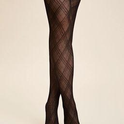 1pair Mesh Thigh Stockings | SHEIN
