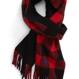 Polo Ralph Lauren Reversible Wool Blend Scarf   Nordstrom   Nordstrom