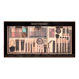 ($45 Value) Beauty Runway 53 Pc Cosmetic Set, Essentials - Walmart.com | Walmart (US)