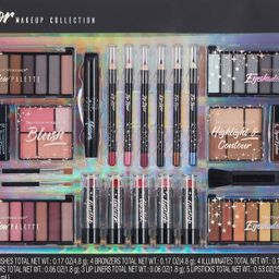 ($30 Value) The Color Workshop Ultimate Color Makeup Collection Gift Set, 89 Pieces - Walmart.com | Walmart (US)