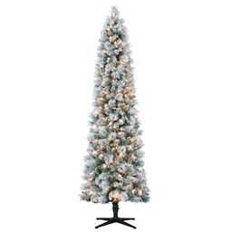 7ft. Pre-Lit Artificial Christmas Tree, Clear Lights by Ashland® | Michaels Stores