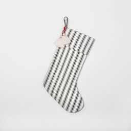 Holiday Stocking Green Stripe - Hearth & Hand™ with Magnolia | Target