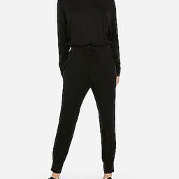 long sleeve drawstring jumpsuit   Express