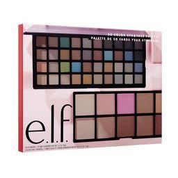 ($20 Value) e.l.f. Cosmetics Holiday 50 Color Eye & Face Palette - Walmart.com | Walmart (US)