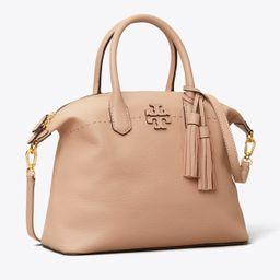 Tory Burch Mcgraw Slouchy Satchel: Women's Handbags   Tory Burch (US)